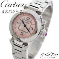 【送料無料】【美品】Cartier【カルティエ】ミスパシャレディース腕時計【中古】W3140008ピ...
