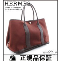 HERMES 【エルメス】 ガーデンパーティ PM トートバッグ ハンドバッグ トワルオフィシエ □...
