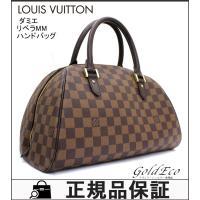 LOUIS VUITTON 【ルイヴィトン】 ダミエ リベラMM ハンドバッグ N41434 エベヌ...