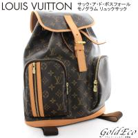 【送料無料】 LOUIS VUITTON 【ルイ ヴィトン】 M40107 モノグラム サック ア ...