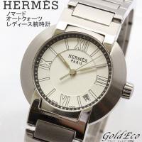 【送料無料】HERMES【エルメス】ノマード レディース腕時計 時計 オートクォーツ デイト機能 シ...