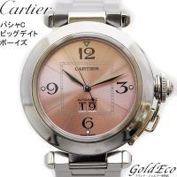 【送料無料】Cartier【カルティエ】パシャC ビッグデイト ボーイズ腕時計 自動巻き オートマ ...