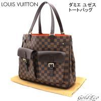 LOUIS VUITTON 【ルイヴィトン】 ダミエ ユゼス トートバッグ N51128 【中古】 ...