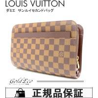 LOUIS VUITTON 【ルイヴィトン】ダミエ エベヌ N51993 サンルイ セカンドバッグ ...