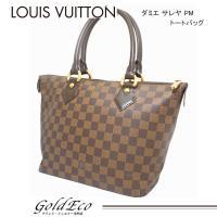 LOUIS VUITTON 【ルイ ヴィトン】 ダミエ サレヤPM トートバッグ N51183 エベ...