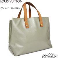 LOUIS VUITTON【ルイヴィトン】ヴェルニ リードPM M91145 グリ ミニトートバッグ...