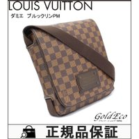 LOUIS VUITTON【ルイヴィトン】 ダミエ ブルックリンPM ショルダーバッグ N51210...