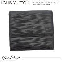LOUIS VUITTON 【ルイヴィトン】エピ ポルトフォイユ エリーズ Wホック財布 ノワール ...