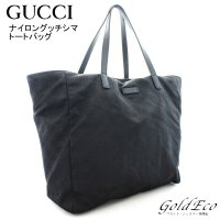 GUCCI 【グッチ】 ナイロン グッチシマ 282439 トートバッグ ハンドバッグ GG柄 キャ...