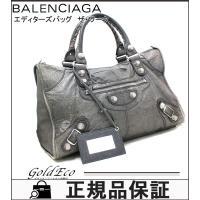 BALENCIAGA【バレンシアガ】 エディターズバッグ ザ・ジャイアントワーク ハンドバッグ 17...