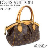 LOUIS VUITTON 【ルイヴィトン】モノグラム ティボリPM ハンドバッグ M40143 通...