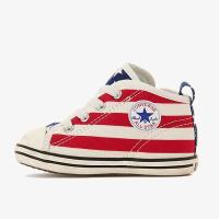 誰もが知るアメリカの象徴的な柄であり、コンバースを代表する柄の一つである「スターズ&バーズ」をアッパ...