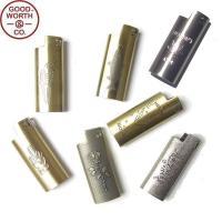 GOOD WORTH グッドワース LIGHTER CASE MINI ライター ケース ミニ メンズ レディース ギフト 真鍮 ブラス Bicライター J25 ミニライター用 7タイプ