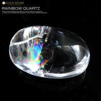 ■サイズ約41 x 27 x 22mm 重量34.5g■虹入り水晶について虹入り水晶は、水晶内にクラ...