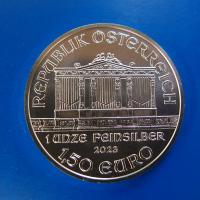 オーストリア ウィーン銀貨1オンス 2020年 新品未使用
