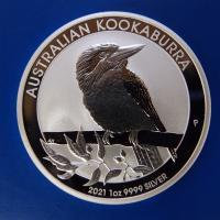 2021年 カワセミ銀貨1オンス 新品未使用 オーストラリア