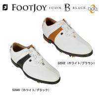 【2015年モデル】フットジョイ FJ アイコン ブラック ボア メンズ ゴルフシューズ 【5203...
