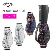 【2017年モデル】  キャロウェイ PU スポーツ ウィメンズ 17 JM キャディバッグ レディ...