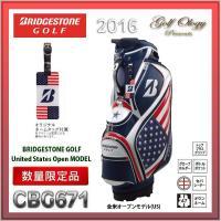 2016年モデル BRIDGESTONE ブリヂストン キャディバック CBG671 US 全米オー...