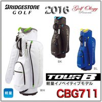 2016年モデル BRIDGESTONE ブリヂストン キャディバック TOUR B CBG711 ...