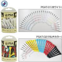PGA ゴルフ PGAツアー ウッドティー PGAT-01 / PGAT-02 木 ゴルフ用品 通販...