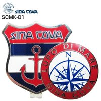 最大24%戻ってくる 1500円引きクーポンも発行中 シナコバ [SINA COVA] キャップ クリップマーカー SCMK-01 通販 ゴルフ