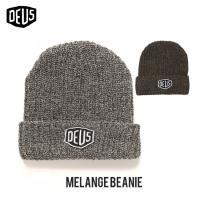 ビーニー Deus Ex Machina MELANGE BEANIE デウスエクスマキナ サーフィン ニット帽 帽子