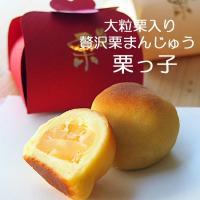 横浜土産 神奈川土産 和菓子 大粒栗の贅沢栗まんじゅう 栗っ子6個入り