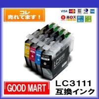 ブラザー プリンター インク 4色セット LC3111-4PK LC3111 Brother インクカートリッジ DCP-J978N DCP-J973N DCP-J972N DCP-J577N DCP-J572N MFC-J998DN