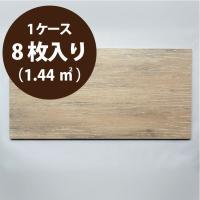 トイレ・洗面所の腰壁等内装壁床用/表示価格=1ケース(8枚入り)/木目調陶器質タイルです。タイル本来...