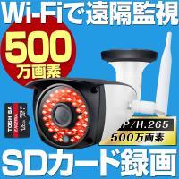 防犯カメラの中でも特に人気の防犯カメラ。  防犯対策の優れモノ  映像も静止画も スマートフォンに記...