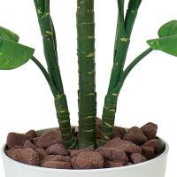 人工観葉植物 鉢植え インテリアグリーン 光触媒 造花 /フレッシュ・ポトス115cm