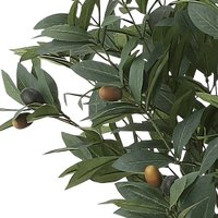 造花・観葉植物 光触媒(空気浄化) インテリア・グリーン鉢植え /オリーブ110cm 617A18038-16