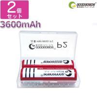商品仕様 商品名:18650充電池×2本 公称容量:3600mAh 充電電圧:3.7-4.2v 定格...