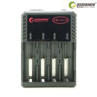 特徴 ■18650型リチウムイオンバッテリー充電池を4本同時に充電できます。1本でも充電可能。 ■1...