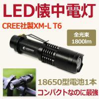 品名:LED懐中電灯(GOODGOODS正規品) 品番:ED70 長さ:117mm 明るさ:1800...