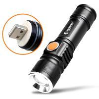 商品名:スマホに充電対応LED懐中電灯(GOODGOODS) 品番:ED68 製造元:グッド・グッズ...