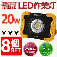 商品名:充電式LED投光器(GOODGOODS)実用新案登録 品番:YC-02W 製造元:グッド・グ...