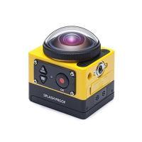 コダック SP360 360°アクションカメラ  ■16.38メガピクセルBSI CMOセンサー ■...