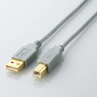 USB2.0 A-Bケーブル1m【ELECOM U2C-B10SV】プリンター等との接続に・エレコム...