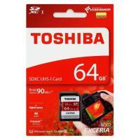 日本製のみ厳選!東芝64GB【SDXCカードTHN-N302R0640A4】Read=90MB/s・...