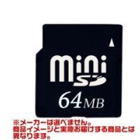 貴重な生産終了品【miniSDカード 64MB】メーカーを選べません /JANコード:1560393...