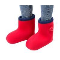 自宅でお手軽に足が濡れずに足湯の感覚を体感できる世界初のブーツ型湯たんぽです。履いて10分ほどで体全...