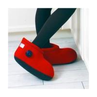 世界初のブーツ型湯たんぽです!足用タイプが足首までになった足用ショートタイプです。温かさが全身に行き...