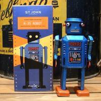 昭和35年に増田屋から発売された、懐かしのロボット玩具の復刻版、R-35 ROBOT(R-35ロボッ...