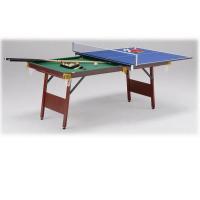 ・ビリヤード台に卓球用天板を乗せればすぐに卓球が楽しめます。 ・卓球台のサイズは家庭サイズ(公式サイ...