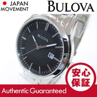 ブランド名:BULOVA (ブローバ) / 商品名:96B223 クラシック ブラックダイアル メタ...