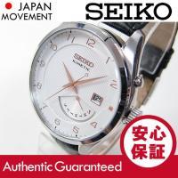 ブランド名:SEIKO (セイコー) / 商品名:SRN049 Kinetic/キネティック レザー...