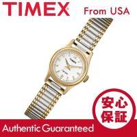 ブランド名:TIMEX (タイメックス) / 商品名:T53822 クラシック 蛇腹ベルト ゴールド...