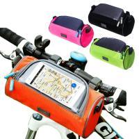 自転車 フロント フレーム バッグ ロードバイク 防水 スマホ収納
